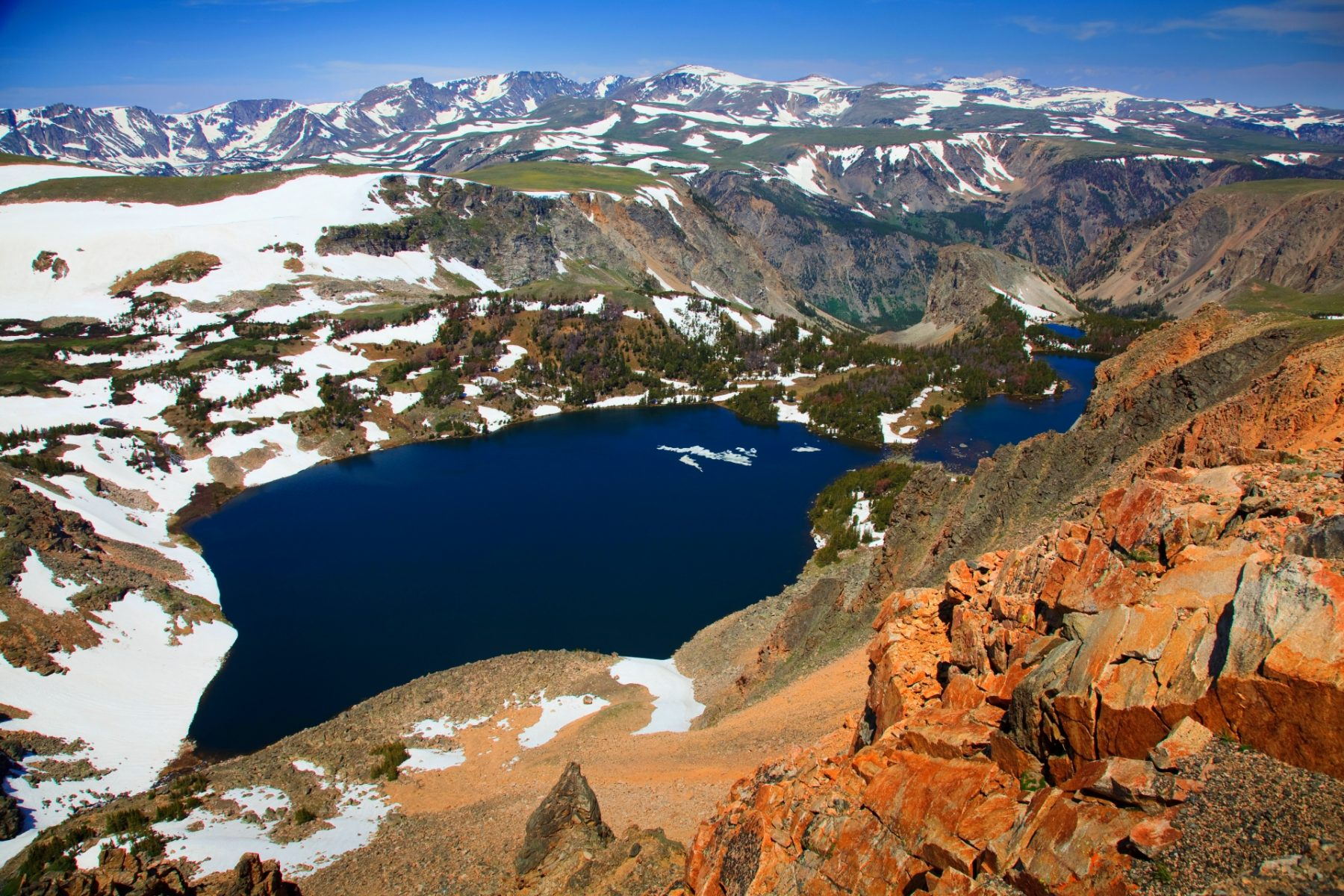Strade panoramiche in Wyoming e Montana Beartooth