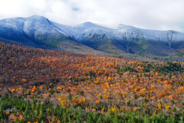 I foliage più spettacolari del mondo, New England