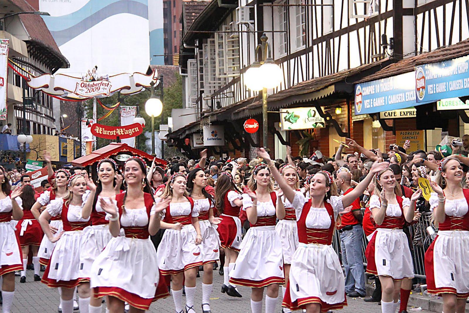 Oktoberfest Blumenau Brasile