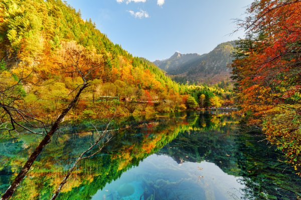 I foliage più spettacolari del mondo Valle del Jiuzhaigou