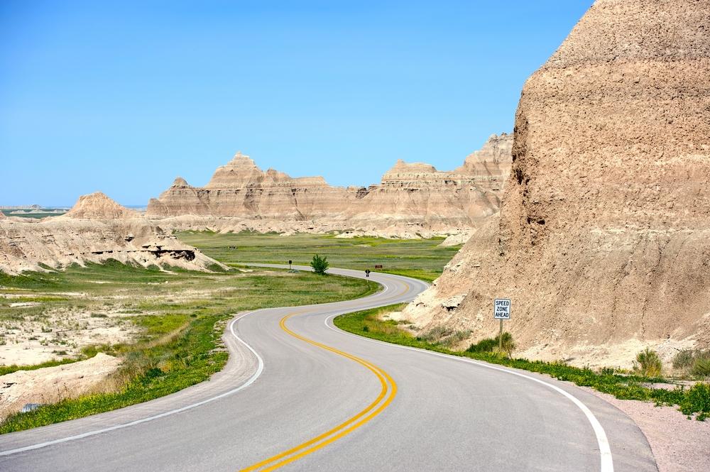 Strade panoramiche in North e South Dakota