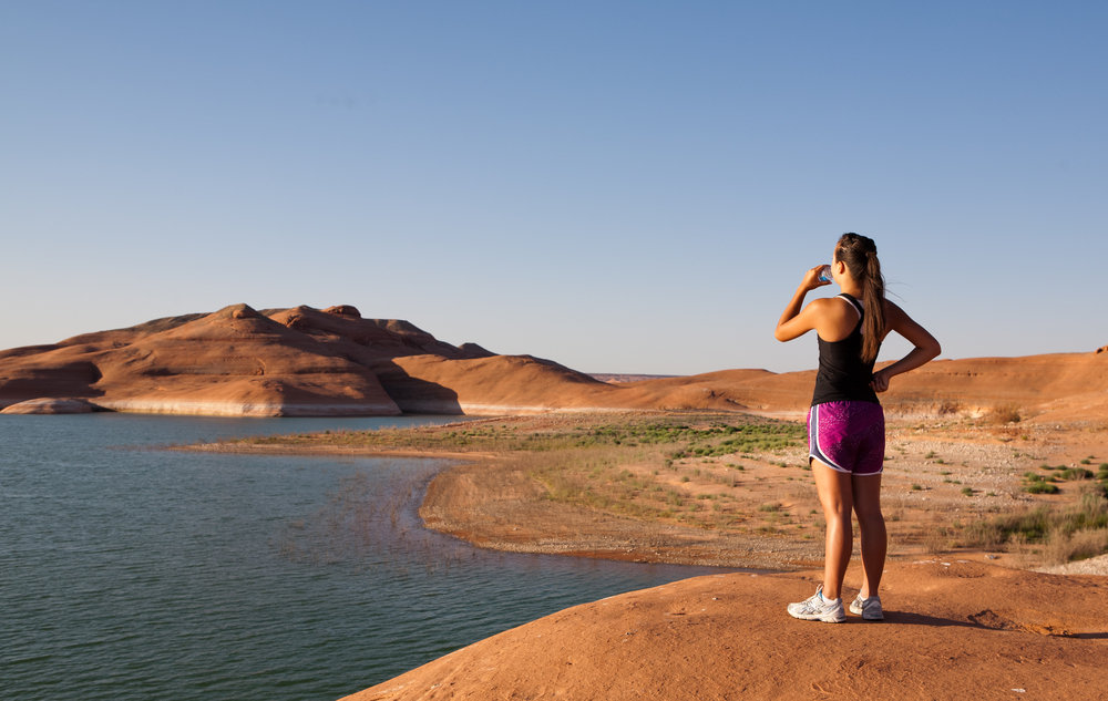 viaggio running West USA: Lake Powell