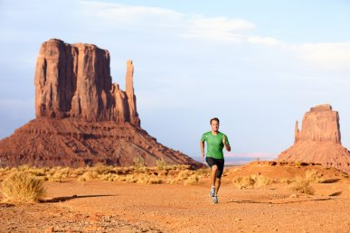 Viaggio running West USA