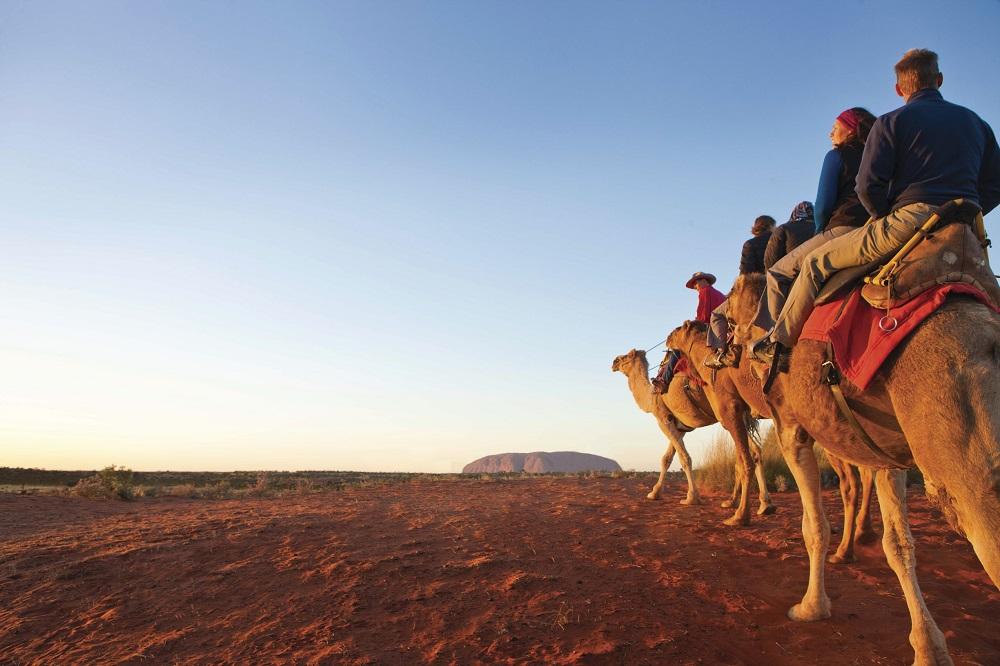 L'arte rupestre degli aborigeni australiani: Uluru National Park