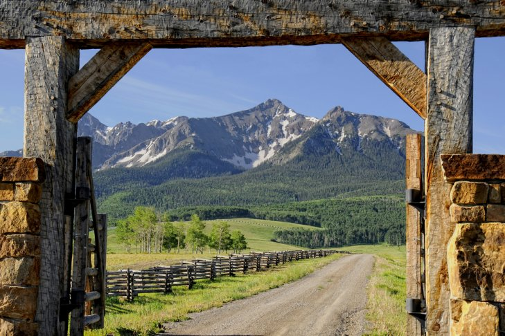 I ranch delle Rocky Mountains