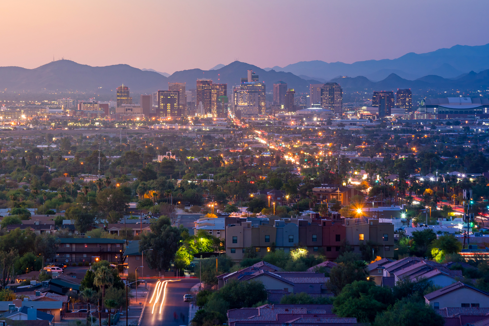 Viaggio cinema Western Phoenix