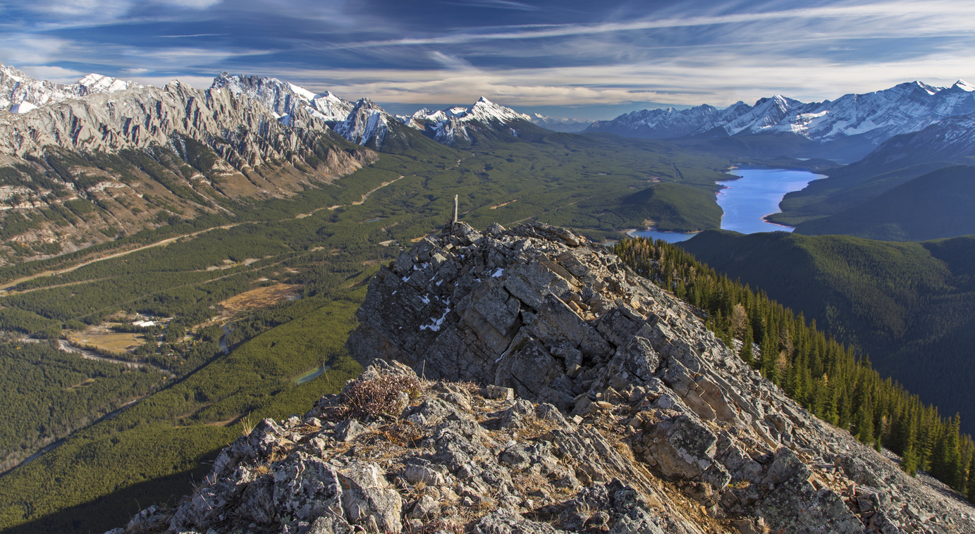 Viaggio hiking in Canada Spray Lakes