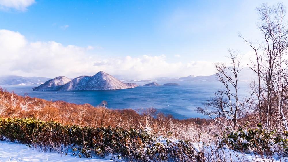 Viaggio in Hokkaido lago Toya