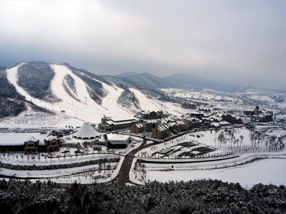 Olimpiadi invernali in Corea del Sud Pyeongchang 2018 Alpensia Resort