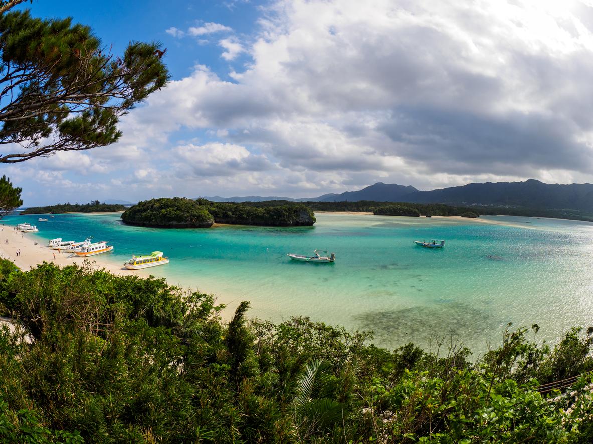 Kabira Bay in Ishigaki