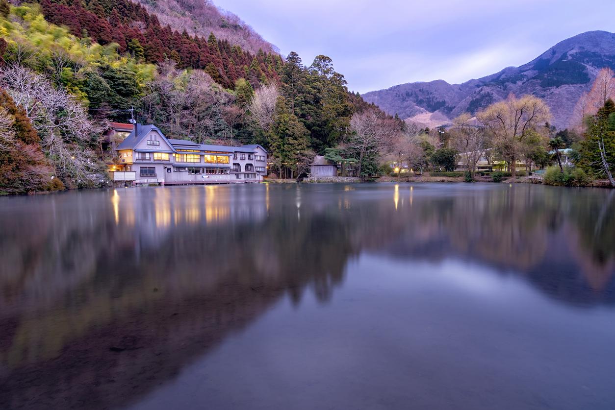 Yufuin Lake kyushu