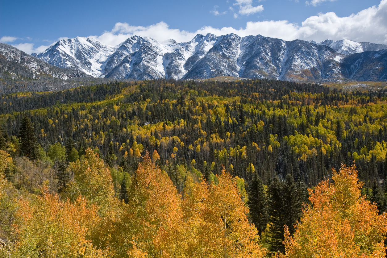 San Juan Mountains, Colorado in Autumn