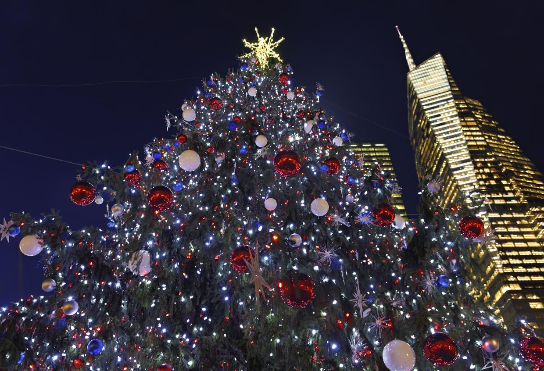 Christmas tree in New York City